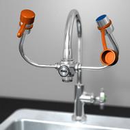 Guardian G1100 EyeSafe Faucet Mounted Eyewashes
