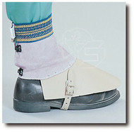 Steelgrip CL 374H 7 in Pearl Gray Split Leather Spat in Elastic Band. Shop Now!