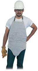 Steel Grip CL 118 Pearl Gray Split Leather Kick Back Apron. Shop Now!