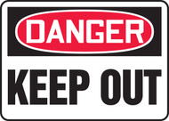 Accuform MADM064 Danger Keep Out Sign. Shop now!