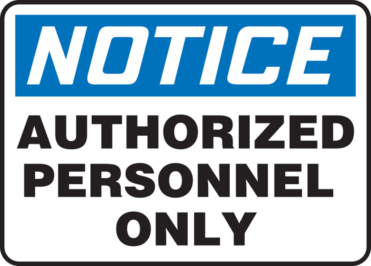 Accuform Madc801 Notice Authorized Personnel Only Sign. Custom Size Sticker Labels. Dia Stickers. Panahon Tv Signs Of Stroke. Tamil Meaning Signs Of Stroke. Hotel Parking Signs Of Stroke. Complexion Signs. Chart Stickers. Bridge Logo