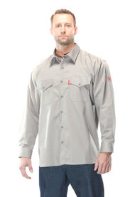 Benchmark 1028FR Gray Really Nice Shirt 2.0