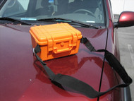 Roadside Safety XG-31907 ABS Orange Plastic Box with 6 pieces Red Flares