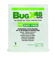 BugX 48 Patch Natural Insect Repellent available in Bulk Pack Case of 100. Shop now!