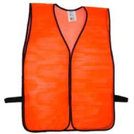 High Visibility Traffic Safety Vest - Orange. Shop Now!