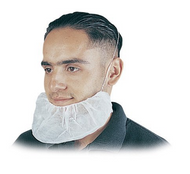 Disposable White Beard Covers. Shop now!