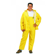 3 Piece PVC Polyester Rainsuit. Shop Now!