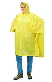 PVC Poncho Yellow. Shop Now!