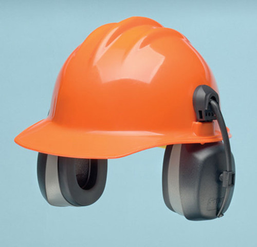 Elvex HM-6093 Cap Mounted Ear Muffs. Shop Now! ( Bump Cap not Included)