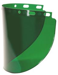 Fibre Metal 4178DGN Dark Green Faceshield Window Wide View. Shop now!