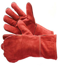 "Kevlar Lined 14"" Leather Welding Glove. Shop Now!"