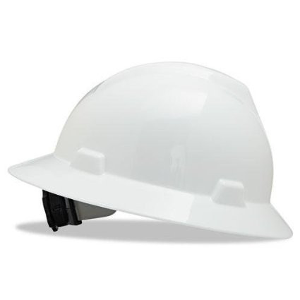 MSA 475369 Fastrac V-Gard Full Brim Hard Hats. Shop now!