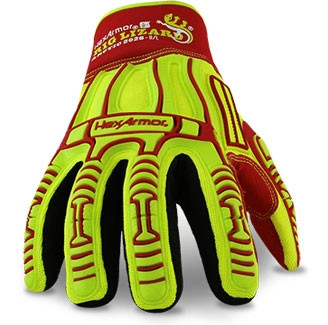 Front View. HexArmor 2026 Rig Lizard Arctic TP-X+ Palm Waterproof Glove. Shop Now!