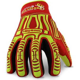Top View. HexArmor 2033 Rig Lizard Arctic Leather Palm Super Fabric Glove. Shop Now!