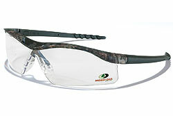 Mossy Oak Dallas Camo frame, Clear lens