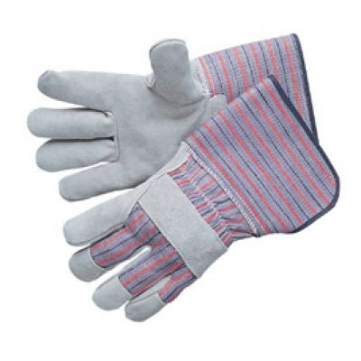 Leather Work Gloves with Gauntlet Cuffs. Shop Now!