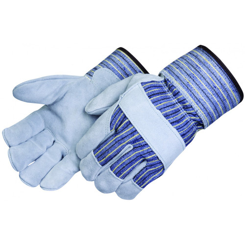 Poly Ethylene Cuff Leather Palm Work Gloves. Shop Now!