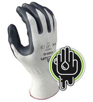 Showa 4550 Zorb-IT Sponge Nitrile Flat Dipped Gloves. Shop Now!