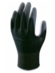 Showa BO500B Black Palm Fit Coated Gloves