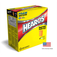 HEAROS 7021 NRR33  Disposable Earplugs - 200 Pairs