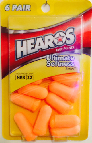 HEAROS 5414 6-pair Disposable Earplugs. Shop Now!