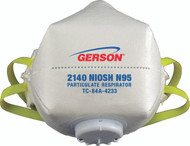Gerson 2140C N95 Particulate Respirator w/Valve (Cupped) with Gerson Category Number 082140C. Shop now!