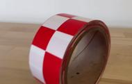 """INCOM 2"""" x 108' Checkerboard Laminated Tape"""