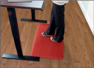 Andersen GetFit Standup Indoor Anti-Fatigue Mat is now available in red, with item number 4443-6. Shop now!