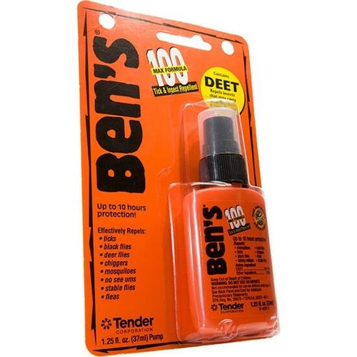 BEN'S-100 0006-7070 Max Tick & Insect Repellent 1.25OZ Pump. Shop now!