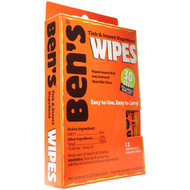 BEN'S 0006-7085 30 Tick & Insect Repellent Wipes 12/BOX. Shop now!
