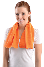 Orange Cooling Towel