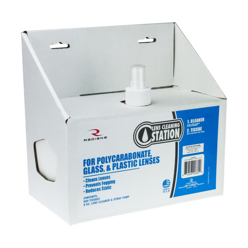 Radians LCS080600 8 oz. Small Cleaning Station/600 Tissues. Shop now!