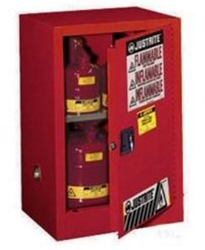 Justrite 891221 Red 12 Gal Sure Grip Ex Flammable Safety