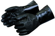 Chemical Resistant Gloves Rough PVC Coated Gloves. Shop Now!