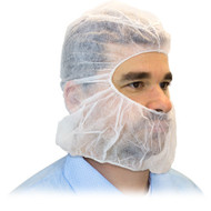 Disposable Bouffant Caps and Beard Cover Combo -100 Each