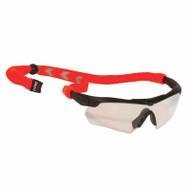 Chums Enhanced Visibility Eyewear Retainers - Orange Chevron 12307. Shop Now!