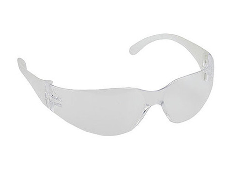 Buy Clear Wrap around safety glasses today, and Save!  SA-5340-C.
