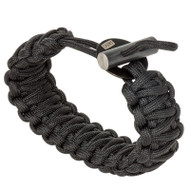 Chums 34600100 Smokey Fire Starter Paracord Bracelet in Black. Shop Now!