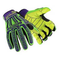 HexArmor 2027 Rig Lizard Leather Palm Impact Gloves. Shop now!
