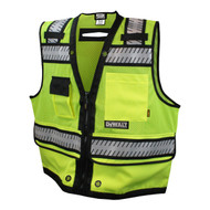 DeWalt DSV521 Class 2 Heavy Duty Surveyor Vest - Front. Shop now!