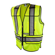 DeWalt DSV421 Class 2 Adjustable Breakaway Mesh Vest - Front. Shop now!