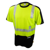 DeWalt DST11B Class 2 Moisture Wicking Mesh T-Shirt - Front. Shop now!