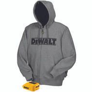 DeWalt DCHJ068 Gray Heated Hoodie. Shop now!