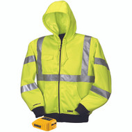DeWalt DCHJ071 Heated High Visibility Class 3 Hoodie. Shop now!