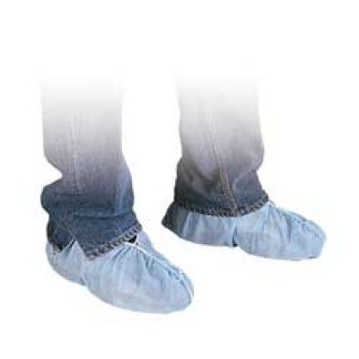 Disposable Polypropylene Blue Shoe Covers. Shop Now!