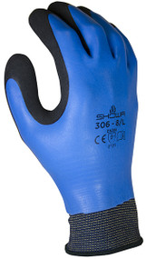 General purpose, fully coated with foamed latex, rough finish, 13-gauge liner, blue w/black. Shop Now!