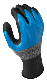 General purpose 3/4 nitrile blue undercoating w/black foamed palm coating, 13 gauge, seamless knitted liner. Shop Now!