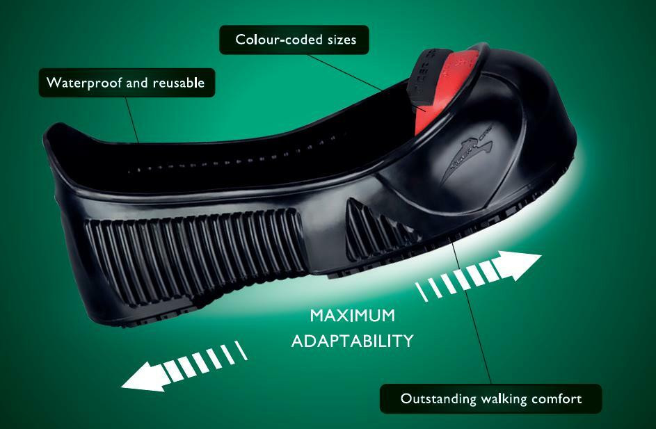 cd774f91c70 Total Protect Safety Toe and Slip Resistant Overshoes