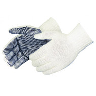 String Knit Gloves 1 Side PVC Dotted. Shop Now!