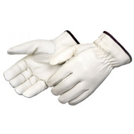 Cowhide Leather Driver Gloves Winter Lined Premium Grain. Shop Now!